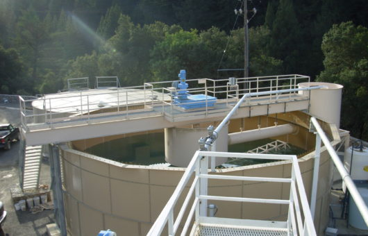 Resources.Sustainable Practices.Water Conservation.Mark West Quarry Wash Plant Water Clarifier Tank 1